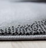 Adana Carpets Moderne loper - Plus Zwart 8008
