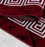 Adana Carpets Moderne loper - Plus Rood 8009