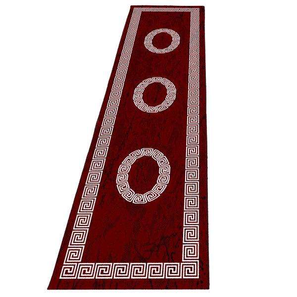 Moderne loper - Plus Rood 8009