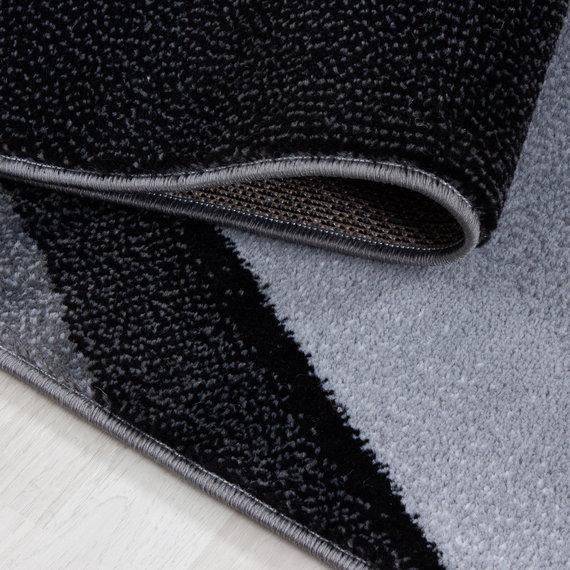 Adana Carpets Moderne loper - Plus Zwart 8010