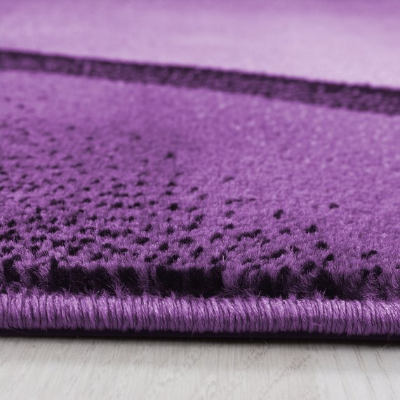 Adana Carpets Moderne loper - Plus Lila 8010