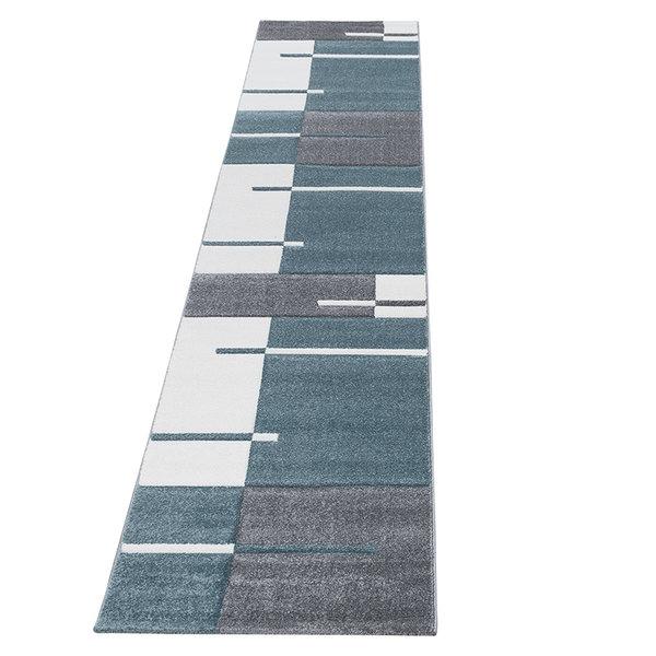 Moderne Loper - Tetris Blauw 1310