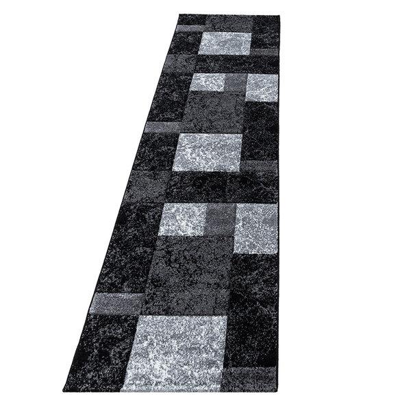 Moderne Loper - Tetris Zwart 1330