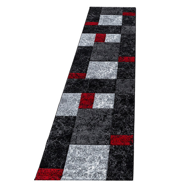 Moderne Loper - Tetris Rood 1330