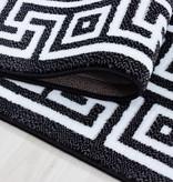Adana Carpets Moderne loper - Jena Zwart 9340