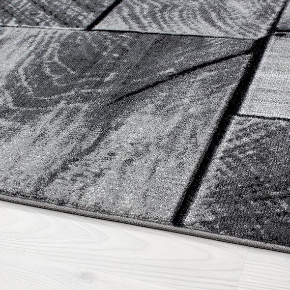 Adana Carpets Moderne loper - Jena Zwart 9260