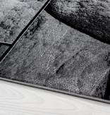 Adana Carpets Moderne loper - Jena Zwart 9250