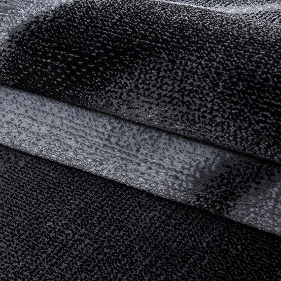 Adana Carpets Moderne loper - Jena Zwart 9240