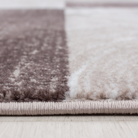Adana Carpets Moderne loper - Jena Bruin 9220