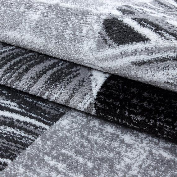Adana Carpets Moderne loper - Jena Zwart 9220