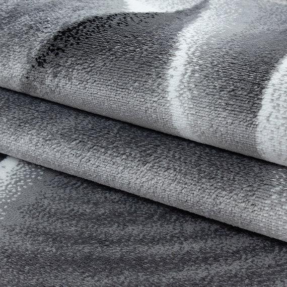 Adana Carpets Moderne loper - Jena Zwart 9310