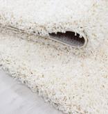 Adana Carpets Rond hoogpolig vloerkleed - Sade Creme
