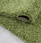 Adana Carpets Rond hoogpolig vloerkleed - Sade Groen