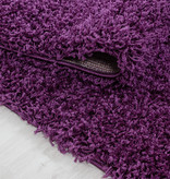 Adana Carpets Rond hoogpolig vloerkleed - Sade Lila