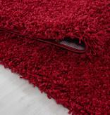 Adana Carpets Rond hoogpolig vloerkleed - Sade Rood