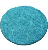 Adana Carpets Rond hoogpolig vloerkleed - Sade Turquoise