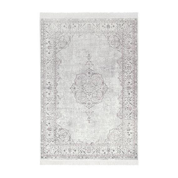 Nouristan Perzisch tapijt - Naveh Medaillon Roze