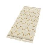 Mint Rugs Hoogpolige loper - Desire Pearl Creme Goud