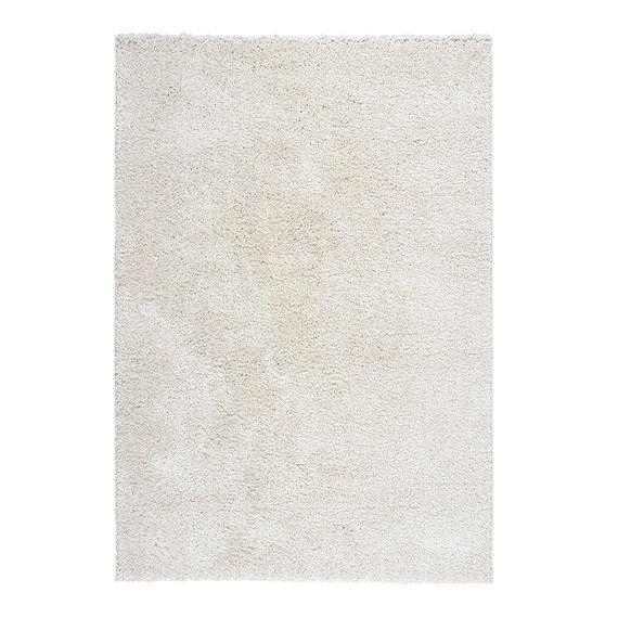 FRAAI Hoogpolig vloerkleed - Lofty Creme/Wit