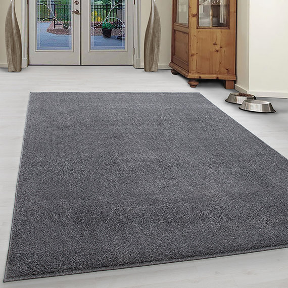 Adana Carpets Laagpolig vloerkleed - Asa Lichtgrijs