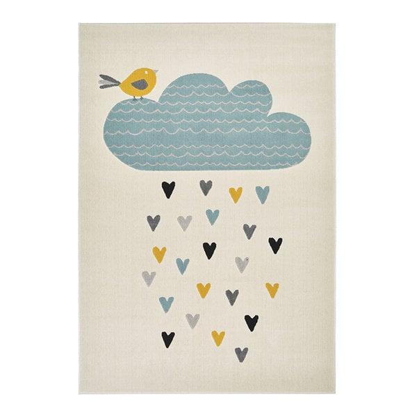 Zala living Kindervloerkleed - Ella Rainfall Wolk Multi