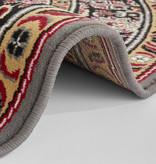 Nouristan Rond Perzisch tapijt - Mirkan Skazar Grijs