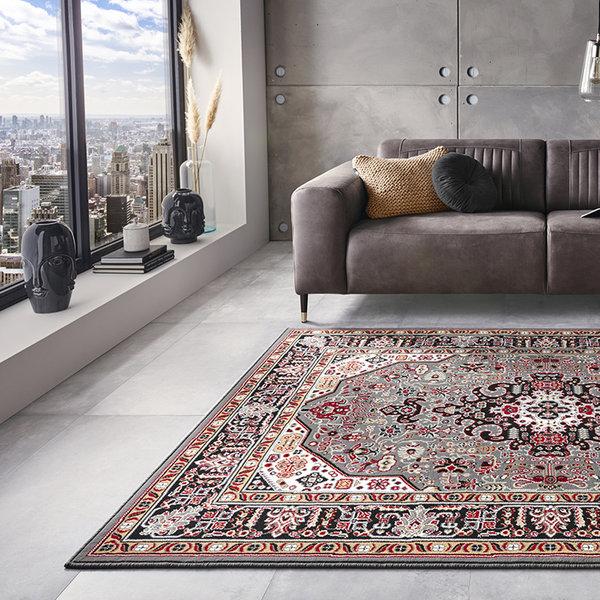Perzisch tapijt - Mirkan Skazar Grijs