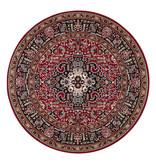 Nouristan Rond Perzisch tapijt - Mirkan Skazar Rood