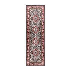 Nouristan Perzische loper - Mirkan Skazar Rood Multicolor