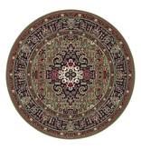 Nouristan Rond Perzisch tapijt - Mirkan Skazar Groen