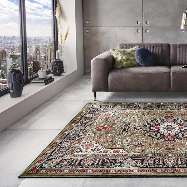 Perzisch tapijt - Mirkan Skazar Groen