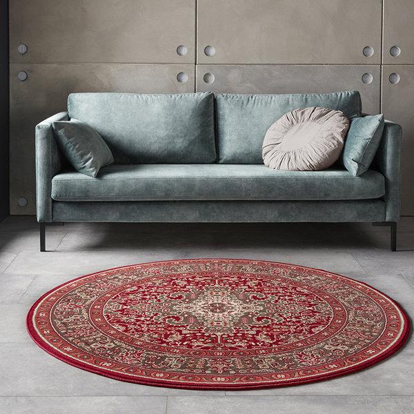 Rond Perzisch tapijt - Mirkan Skazar Oriental Rood