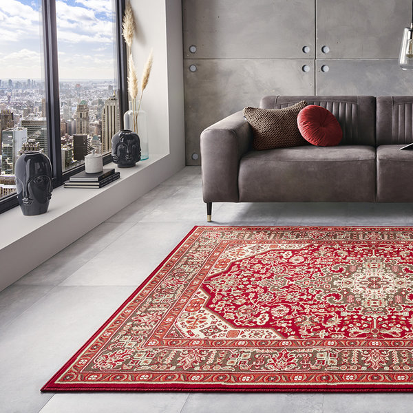 Perzisch tapijt - Mirkan Skazar Oriental Rood
