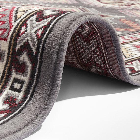 Nouristan Perzisch tapijt - Mirkan Saricha Grijs Multicolor