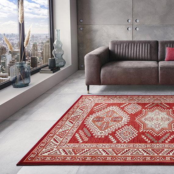 Nouristan Perzisch tapijt - Mirkan Saricha Rood