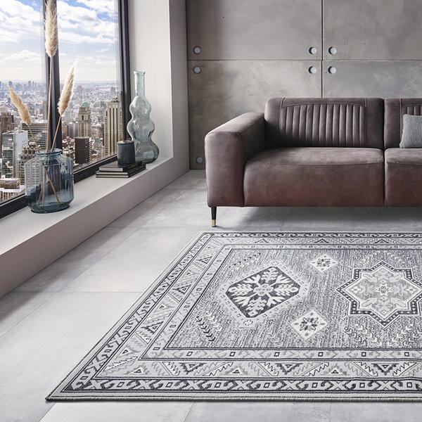 Perzisch tapijt - Mirkan Saricha Lichtgrijs