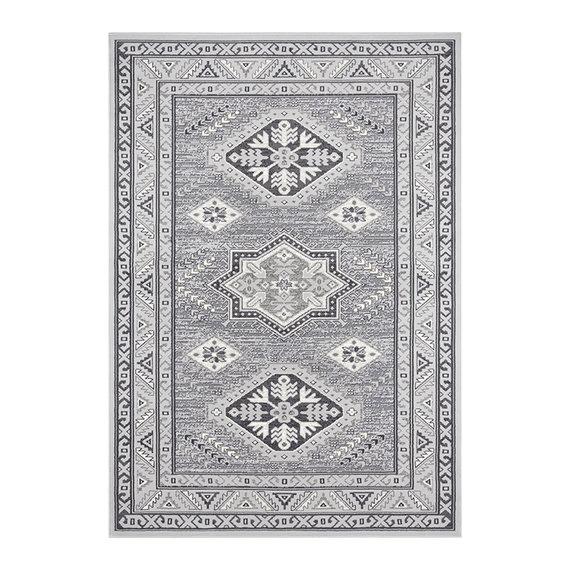 Nouristan Perzisch tapijt - Mirkan Saricha Lichtgrijs