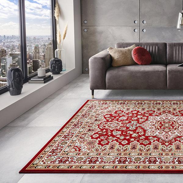 Perzisch tapijt - Mirkan Parun Rood