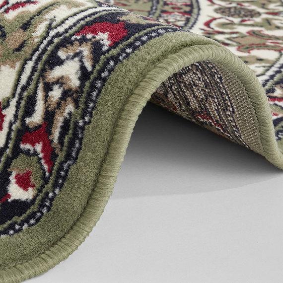 Nouristan Rond Perzisch tapijt - Mirkan Parun Groen