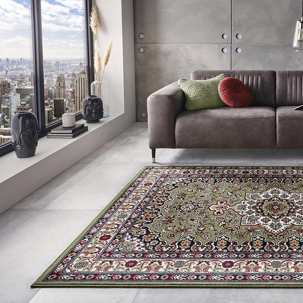 Perzisch tapijt - Mirkan Parun Groen