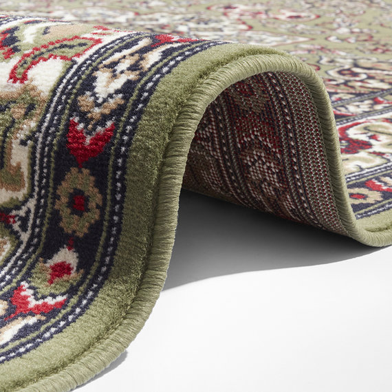 Nouristan Perzisch tapijt - Mirkan Parun Groen