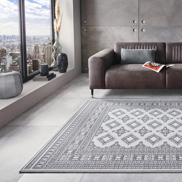 Perzisch tapijt - Mirkan Sao Grijs