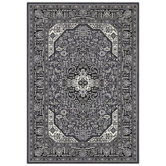 Nouristan Perzisch tapijt - Mirkan Skazar Donkergrijs