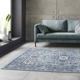 Nouristan Perzisch tapijt - Mirkan Skazar Blauw