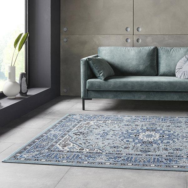 Perzisch tapijt - Mirkan Skazar Blauw