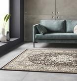Nouristan Perzisch tapijt - Mirkan Skazar Bruin Creme