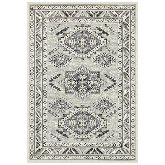 Nouristan Perzisch tapijt - Mirkan Saricha Creme