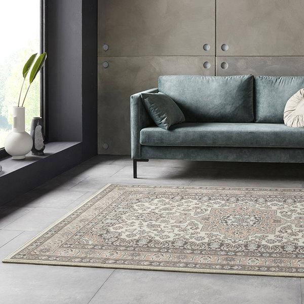 Perzisch tapijt - Mirkan Parun Roze Creme