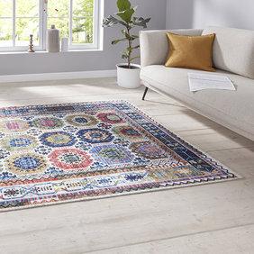 Nouristan Perzisch tapijt - Farah Kilim Multicolor