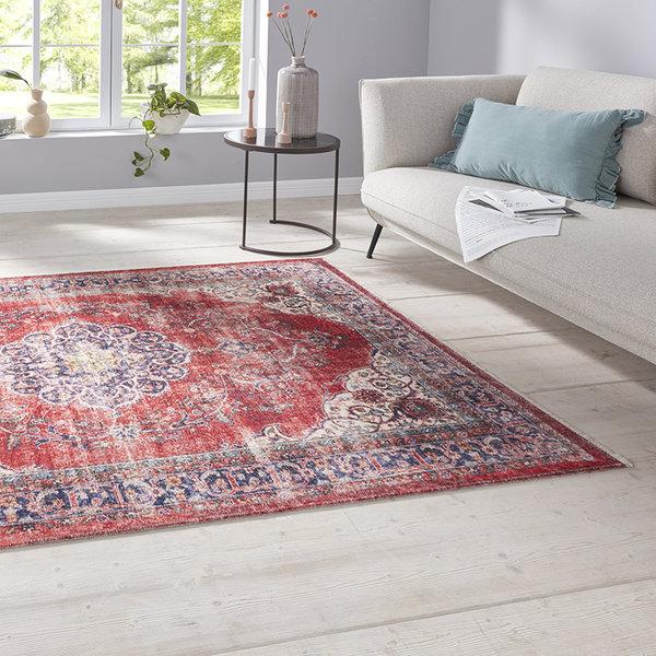 Perzisch tapijt - Farah Tabriz Creme Rood